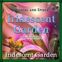 Iridescent garden by Smoke and Mirrors