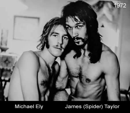 Michael Ely and James Taylor 1972