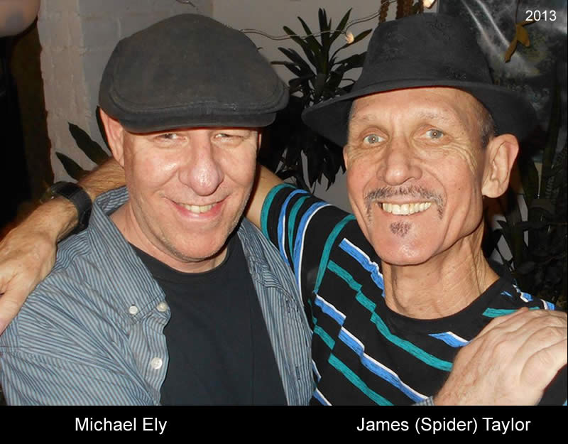 Michael Ely and James Taylor 2015