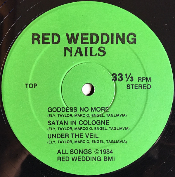 Red Wedding Nails Record Side 2