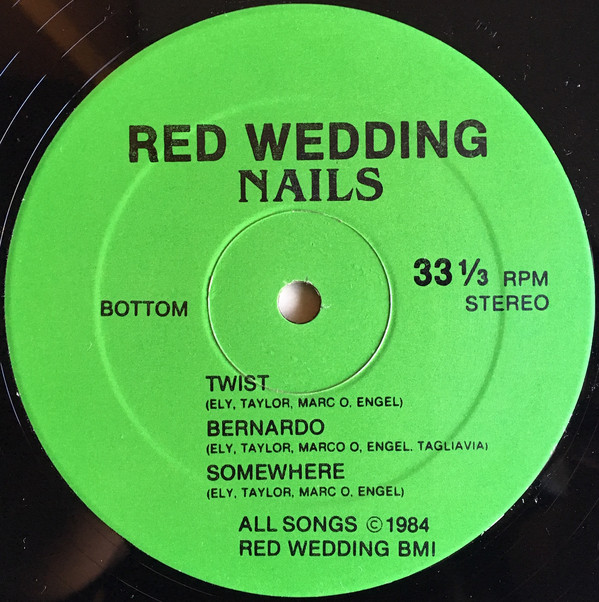 Red Wedding Nails Record Side 1